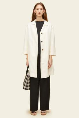 Mansur Gavriel Linen Classic Coat