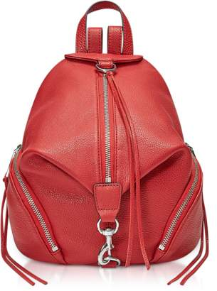 Rebecca Minkoff Red Scarlet Medium Julian Backpack