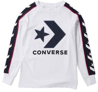 Converse Long Sleeve Track Tee (Big Boys)