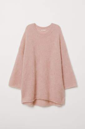 H&M Mohair-blend Sweater - Pink