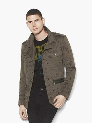 John Varvatos Ink Drop Officers Field Jacket
