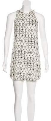 A.L.C. Printed Sleeveless Dress