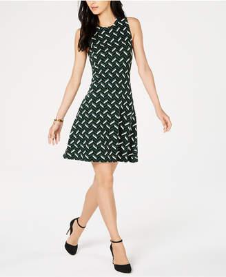 Michael Kors Printed Shift Dress, in Regular and Petite Sizes
