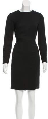 Proenza Schouler Long Sleeve Cocktail Dress