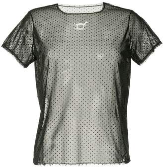 Tu es mon TRÉSOR Rocking Horse mesh T-shirt