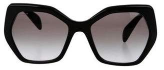 Prada Gradient Hexagonal Sunglasses