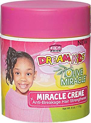 African Pride Dream Kids Olive Miracle Miracle Creme 6 Ounce (177ml)