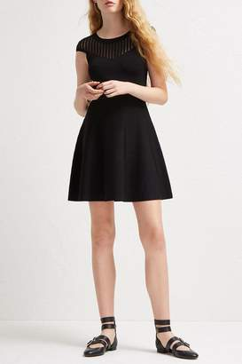 French Connection Rose Crepe Dress
