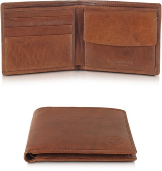 The Bridge Story Uomo Leather Billfold Wallet w/Coin Pocket