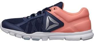0de5d26cac1021 at MandMDirect.com · Reebok Womens YourFlex Trainette 9.0 MT Training Shoes  Collegiate Navy Stellar Pink White