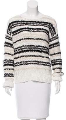 Veronica Beard Long Sleeve Scoop Neck Sweater w/ Tags