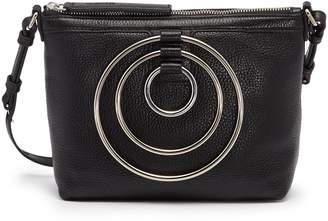 Kara Multi ring leather crossbody bag