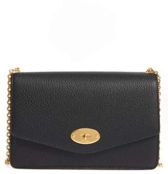 Mulberry Large Postmans Lock Calfskin Leather Crossbody Clutch