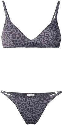 Sian Swimwear leopard print swim set