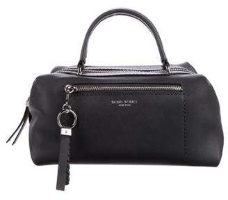 Henri Bendel Grained Leather Satchel