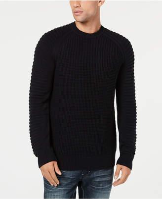 INC International Concepts I.n.c. Men Regular-Fit Ottoman-Sleeve Sweater