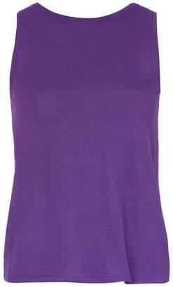 Egrey back slit blouse