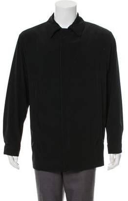 Armani Collezioni Lightweight Zip-Up Jacket