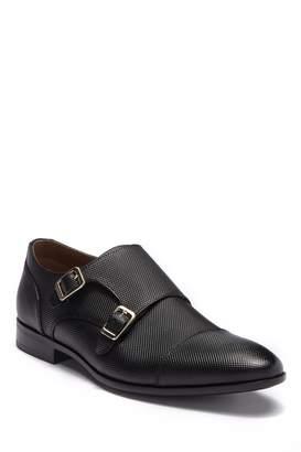 Aldo Leather Monk Strap Loafer