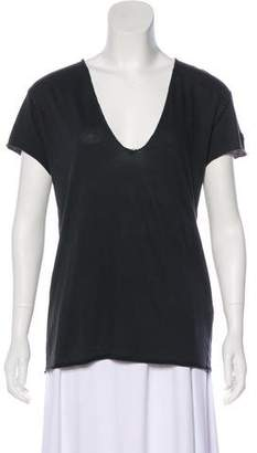Zadig & Voltaire Short Sleeve V-Neck Top w/ Tags