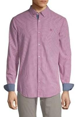 Original Penguin Gingham Slim-Fit Button-Down Shirt