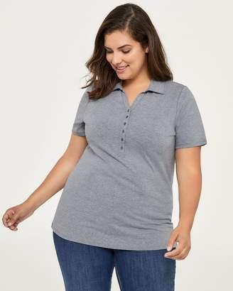 Curve Fit Polo T-Shirt - d/C JEANS
