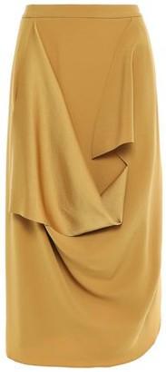 Chalayan Draped Satin-crepe Skirt