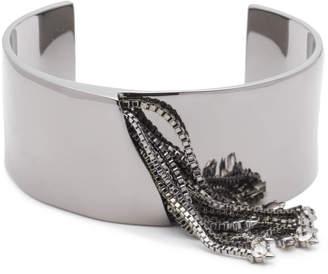 Alexis Bittar Chain Tassel Cuff Bracelet