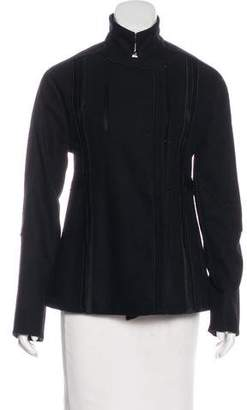 Calvin Klein Collection Wool Short Coat