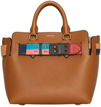 Burberry The Small Leather Colour Block Detail Belt Bag