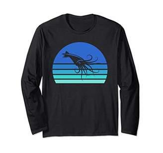 Squid Surfer Long Sleeve Shirt