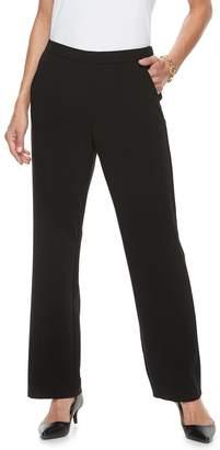 Dana Buchman Women's Midrise Comfort-Waist Pull-On Pants