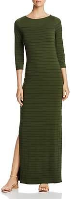 Three Dots Pinstripe Maxi Dress $138 thestylecure.com