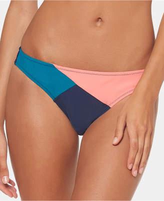 Jessica Simpson Colorblocked Hipster Bikini Bottoms Women Swimsuit
