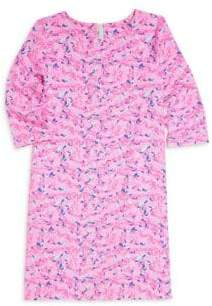 Vineyard Vines Little Girl's& Girl's Whale Swirl Dress