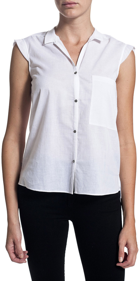 HELMUT Combination Shirt - Optic White
