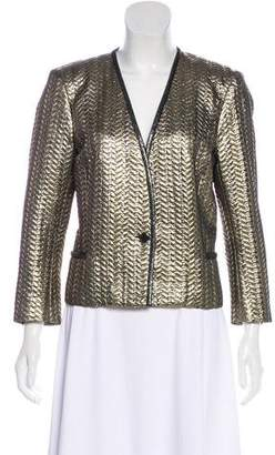 Isabel Marant Metallic Wool-Blend Jacket