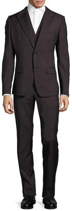 Dolce & Gabbana Regular-Fit Virgin Wool Three-Piece Suit