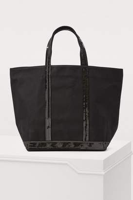 Vanessa Bruno Medium+ Sequined Canvas Tote Bag