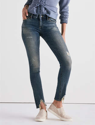 Lucky Brand LOLITA MID RISE SKINNY JEAN WITH FRONT CHEW