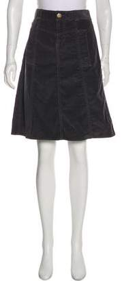 Marc by Marc Jacobs Corduroy Knee-Length Skirt