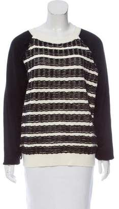 Cédric Charlier Fringe-Trimmed Wool Sweater