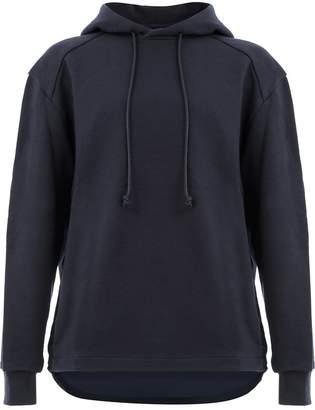 Juun.J contrast back hoodie