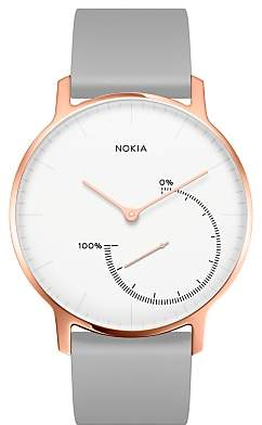 Nokia Withings Special Edition Steel Activity & Sleep Tracking Watch, Rose Gold/Grey