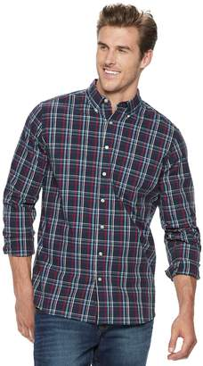 Sonoma Goods For Life Big & Tall SONOMA Goods for Life Flexwear Poplin Button-Down Shirt