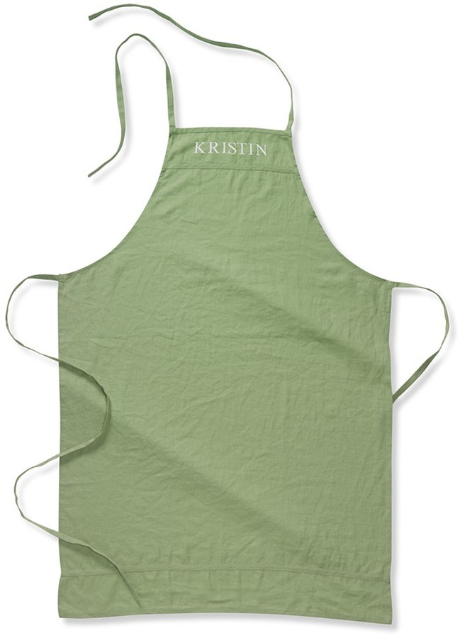 Williams-Sonoma Washed Linen Apron