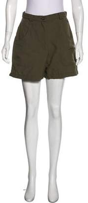 The North Face High-Rise Mini Shorts