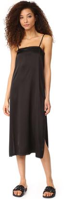 DKNY Sleeveless Slip Dress $149 thestylecure.com