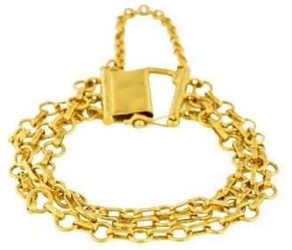Yossi Harari 24K Three-Strand Bracelet