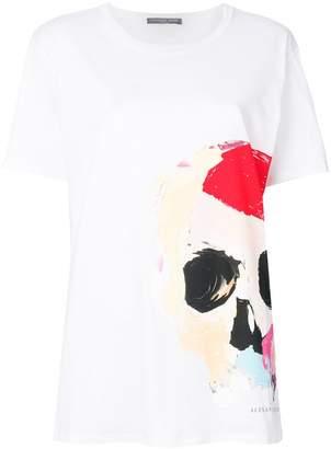 Alexander McQueen skull-print oversized T-shirt